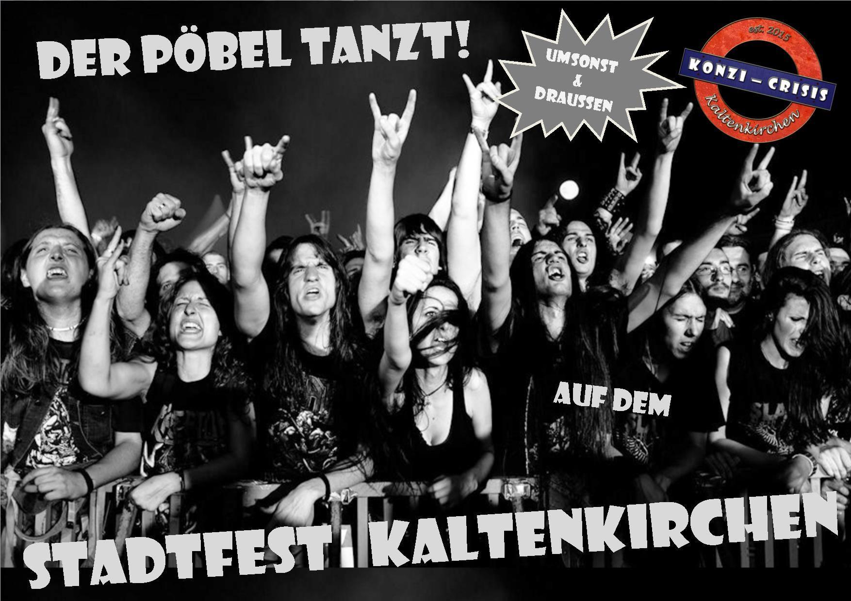 Konzi Crisis Stadtfest Kaltenkirchen