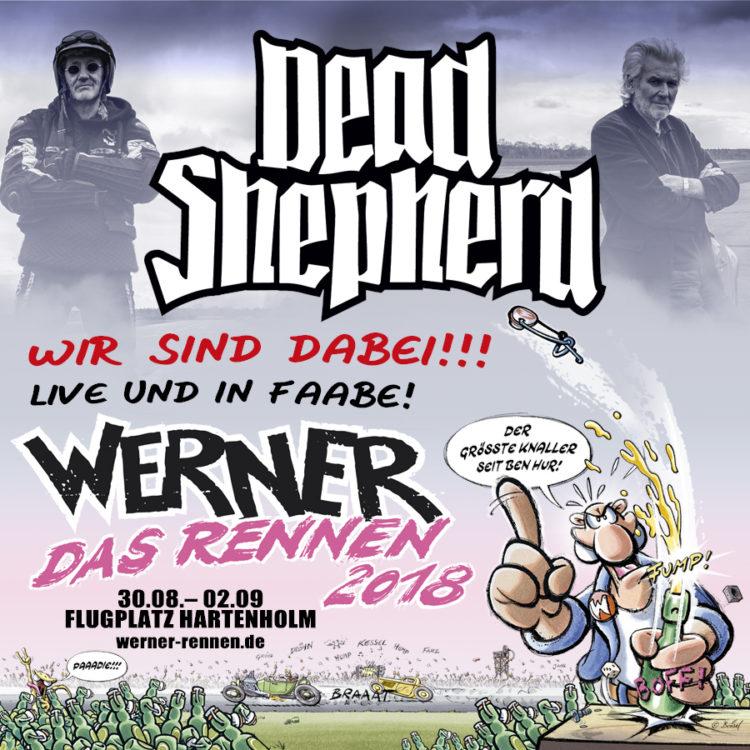 Dead Shepherd Beim Werner Rennen 2018