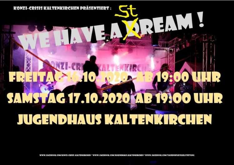 We have a dream Jugendhaus Kaltenkirchen